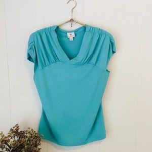 Worthington turquouse blouse! Beautiful!